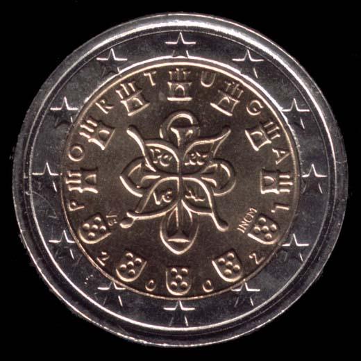 2 Euro 2002 Valore 2 Euro 2002 25,75 mm